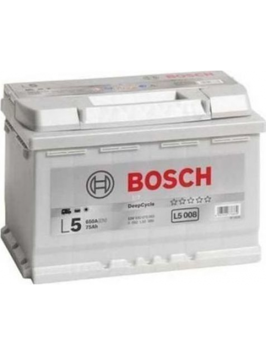 Battery Deep Cycle Bosch L5008 75AH