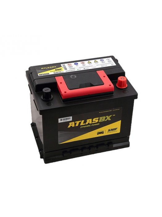 Car Battery Atlas 55Ah MF Calcium+