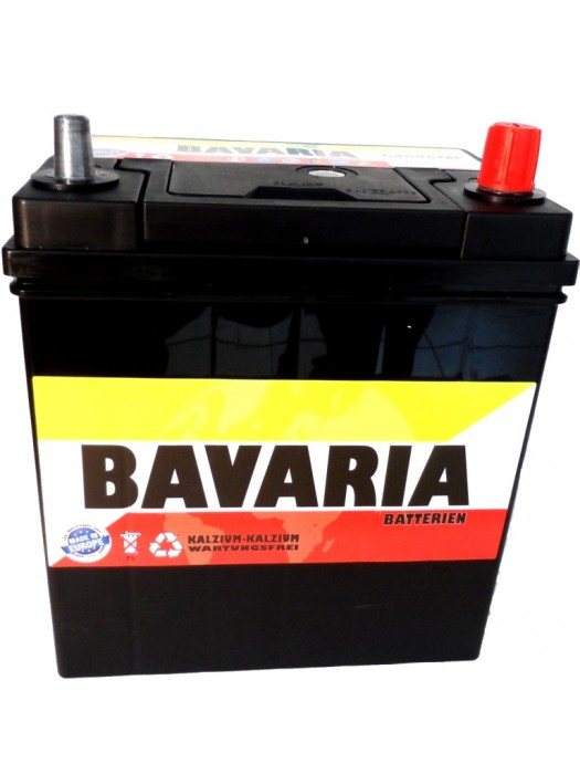 Car Battery Bavaria  40Ah 187x127x227