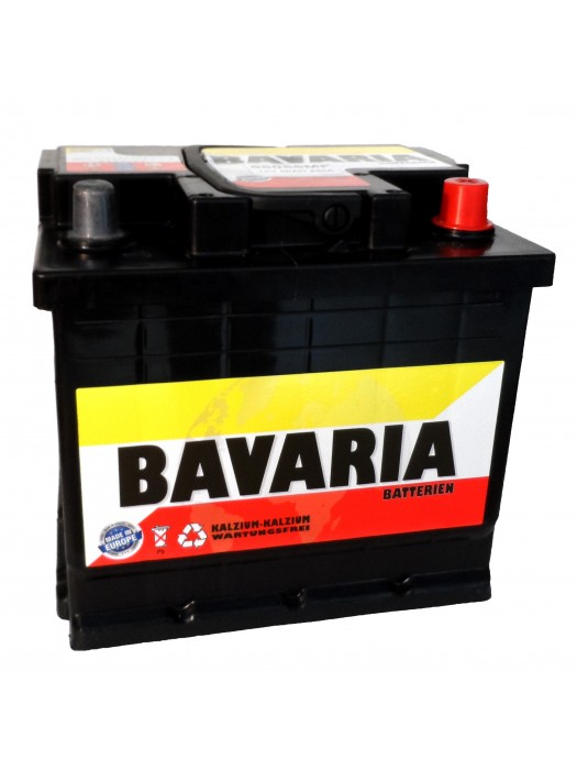 Car Battery Bavaria 50Ah 207x175x175