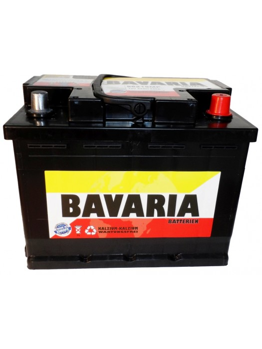 Car Battery Bavaria 62Ah 242x175x190