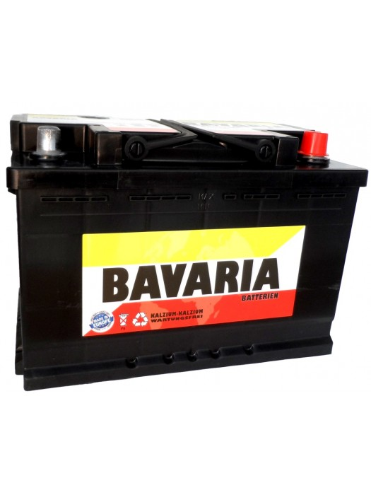 Car Battery Bavaria 80Ah 278x175x175