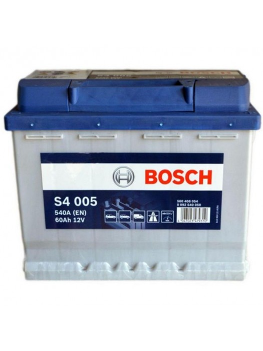 Car Battery Bosch S4005  60Ah 242x175x190