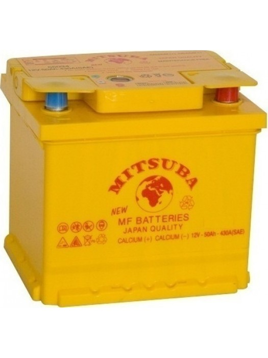 Car Battery Mitsuba+ (55034) 50ah