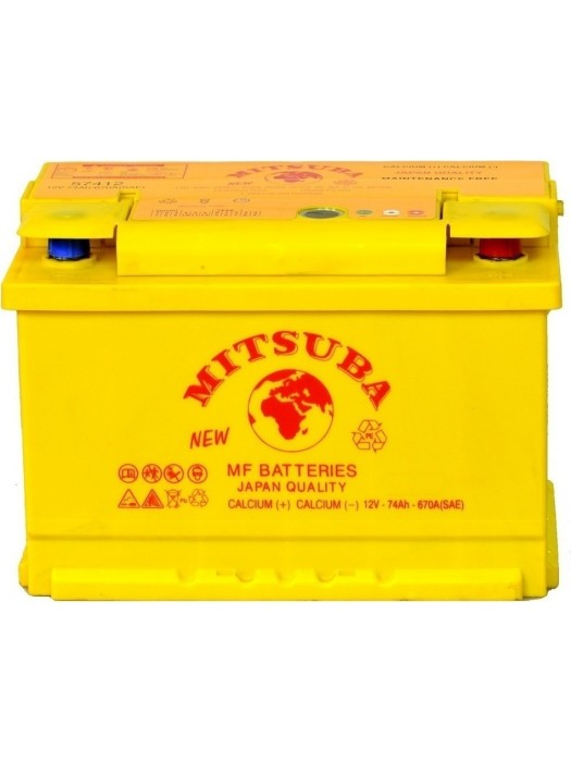 Car Battery Mitsuba+ (57420) 74ah