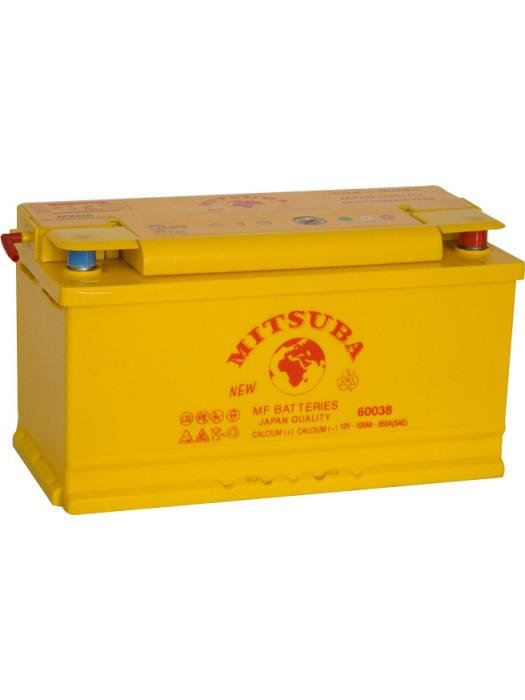 Car Battery Mitsuba+ (60038) 100ah-850A 353x175x190