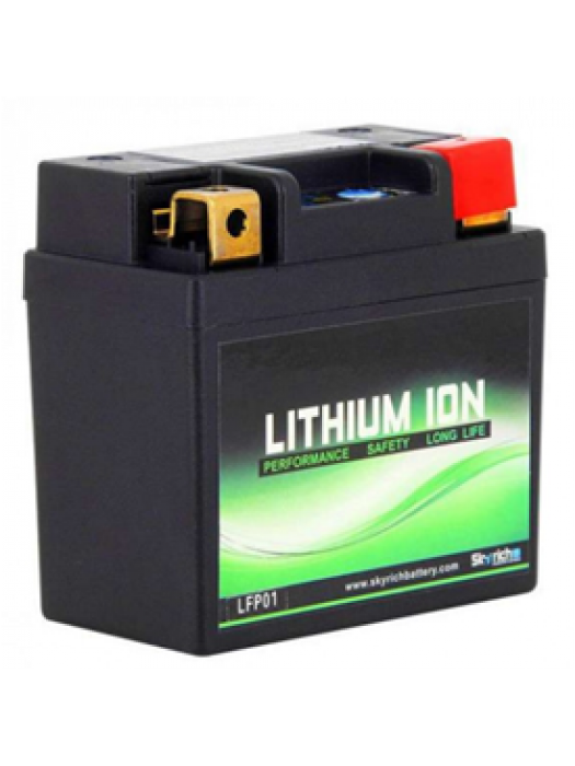 Motorcycle Battery Skyrich lithium  LFP-01 12v 3-5ah