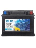Battery Fotovoltaic Mitsuba Solar D60+(Closed Type) 60ΑΗ 12V